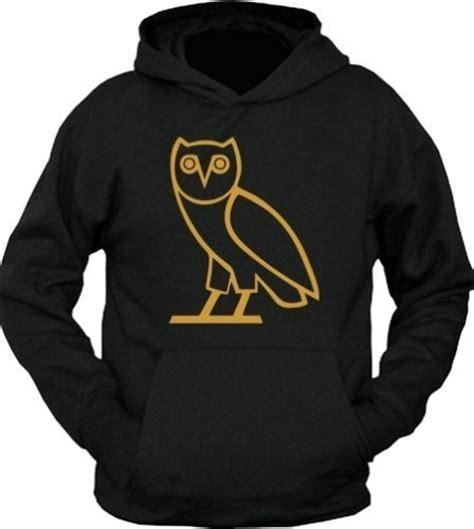 ovo sweater ovo octobers own owl ovoxo black hoodie