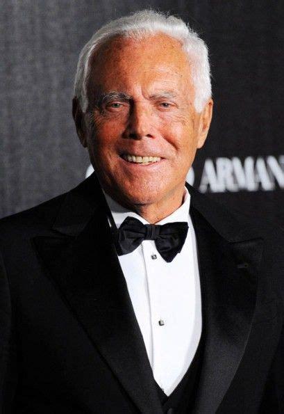 giorgio armani designer giorgio armani italian fashion designer known for his