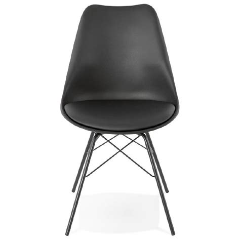 Chaises Style Industriel by Chaise Design Style Industriel Sandro Noir