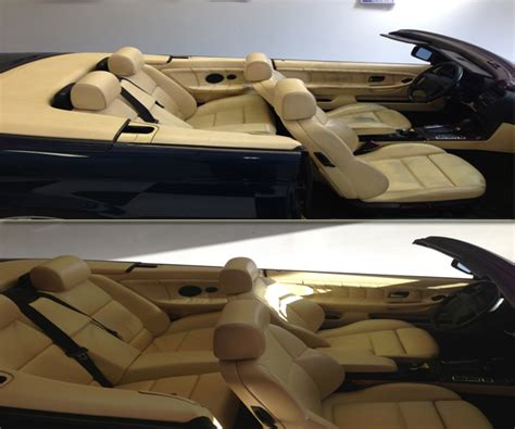 auto interior repair best leather repair service before and after pictures