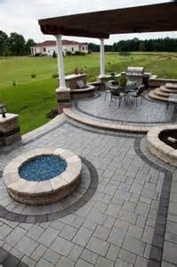 pits and outdoor living on
