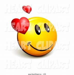 44+ Smiley Heart Clipart
