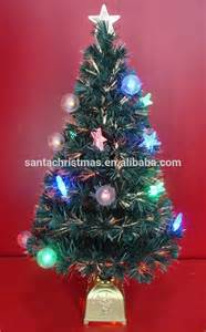 36 inch fiber optic christmas trees with multiple led ornaments buy christmas tree with