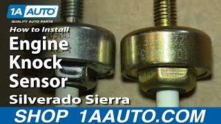 replace  knock sensor   stop  car