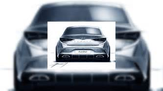 hyundai sonata sport hyundai sonata facelift previewed in design sketches
