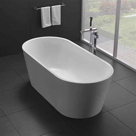 Freestand Bathtub by Eviva 60 Quot White Acrylic Free Standing Bathtub