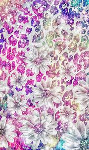 Diamond Flowers iPhone/Android Wallpaper | Bling wallpaper ...