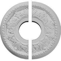 Split Ceiling Medallion Home Depot by Small Split Ceiling Medallions Two Shop Diy