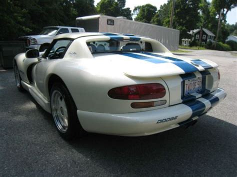 buy car manuals 1996 dodge viper auto manual sell used 1996 dodge viper rt 10 carroll shelby edition 2 of 50 in fishkill new york united