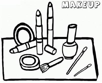 Coloring Makeup Printable Eyeshadow Popular Colorings