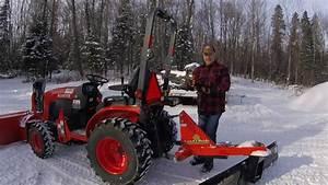 12 Kubota B2601 Compact Tractor Work Light Install Final