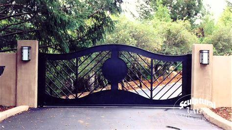 sculptural gates ornamental iron driveway gate company