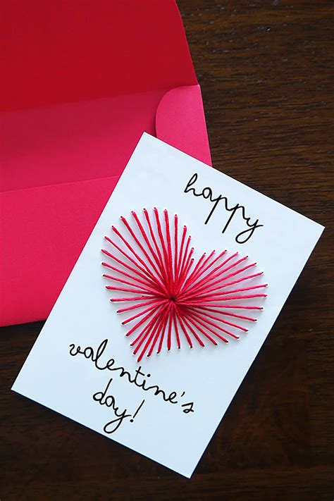 Valentine's day is a day dedicated to love and is celebrated around the world on february 14 every year. 26 DIY Valentine's Day Cards - Homemade Valentines ...