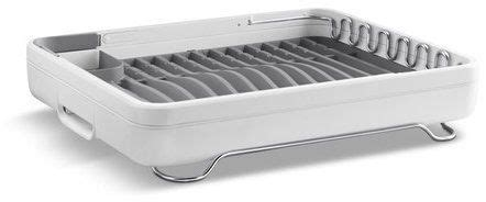 lift stainless steel collapsible countertop dish rack