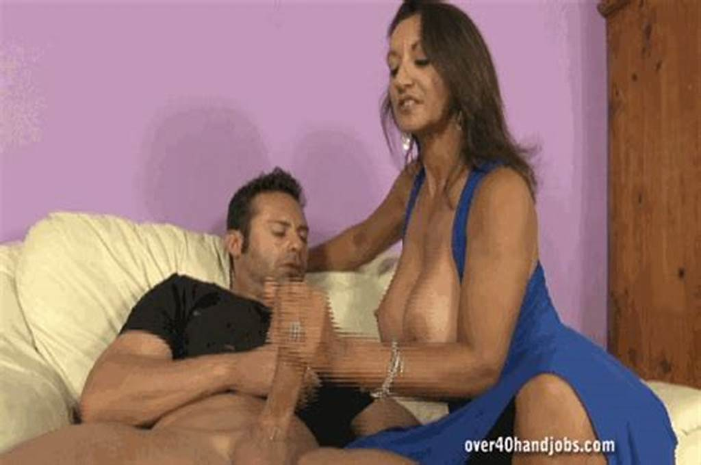#Mom #Gets #Her #Massive #Tits #Sprayed #With #Cum