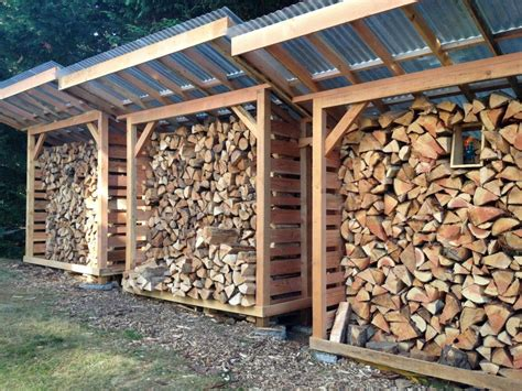 plans  firewood storage wood storage shed firewood