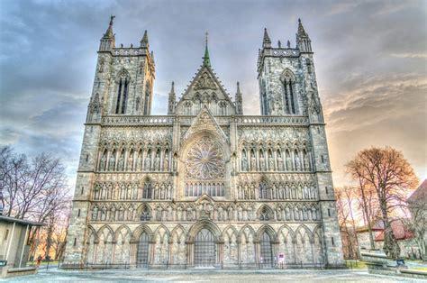 nidaros cathedral trondheim norway  photo  pixabay