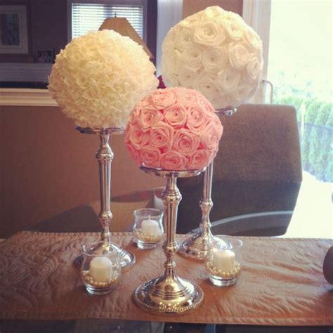 my diy paper flower centerpieces weddingbee photo gallery