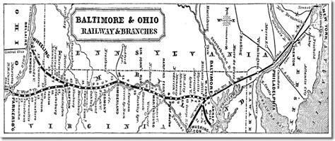 map  baltimore ohio railroad
