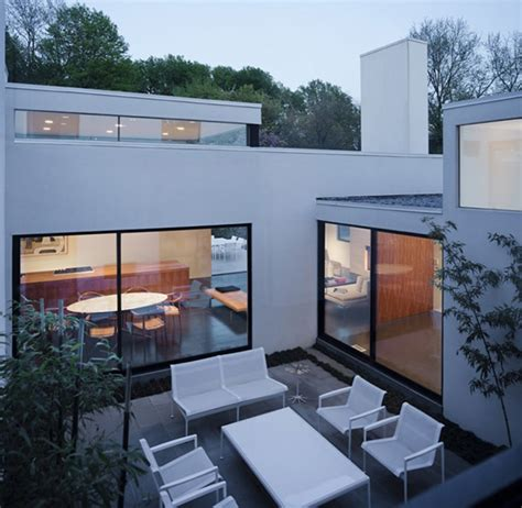 homes with inner courtyards inner courtyard house plans jigsaw by david jameson architect