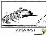Coloring Cruise Ship Ships Boat Liner Royal Caribbean Army Boats Template Stupendous Yescoloring Lego Printables Outs Bold Smooth Navy Cruises sketch template