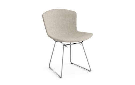 bertoia side chair with cover in classic boucl 233