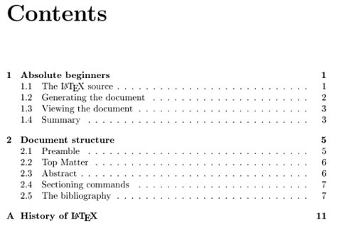 Latex Project Report Template