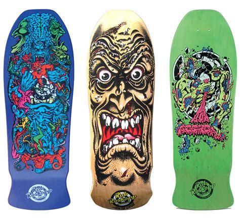 rob roskopp skateboard designs with artist jim phillips