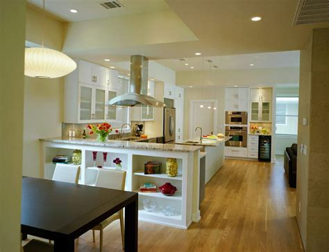 Kitchen Living Room Half Wall by Kitchen Half Wall Kitchen Transitional With White Cabinets