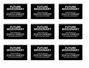 it works for bobbi i want to be a missionary now free With mormon missionary name tag template