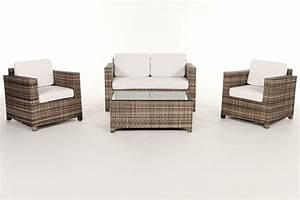 Rattan Gartenmöbel Outlet : rattan gartenm bel lounge sitzgruppe luxury natural ~ Indierocktalk.com Haus und Dekorationen