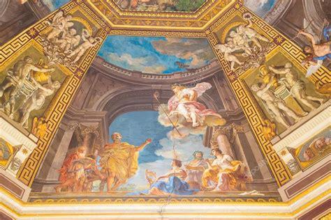 cupola vaticano dipinto sul soffitto a cupola in vaticano foto