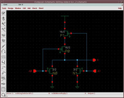 Cadence Tutorial Bit Ripple Carry Adder Schematic Symbol