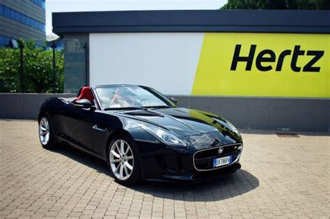 Hertz First To Launch Rentals Of All New Jaguar F-type In