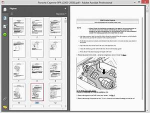 Porsche Cayenne 9pa  2003-2008  - Service Manual - Wiring Diagram