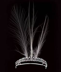 a petite diamond and pearl aigrette by Boucheron, with ...