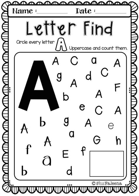 free alphabet letter of the week a best of tpt 443 | a74b341966df4cf1c607eb76f625fd04