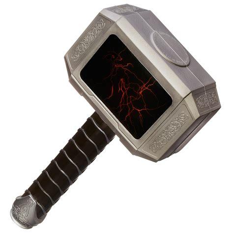 avengers age of ultron thor lightning strike hammer toy