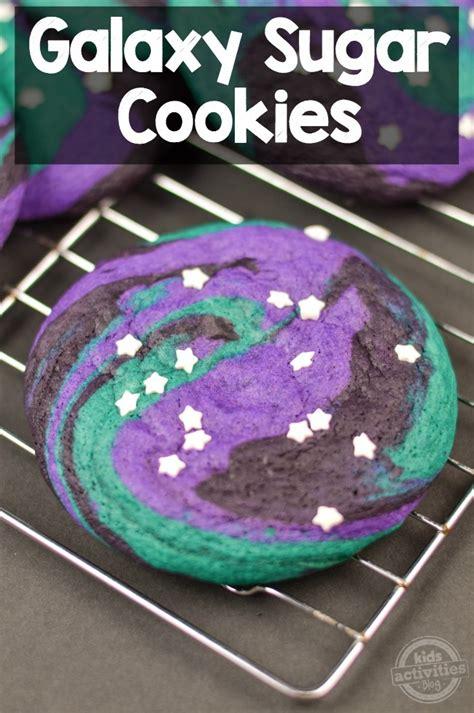 world galaxy sugar cookies kids activities