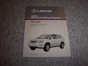 2004 Lexus Rx330 Rx 330 Electrical Wiring Diagram Manual