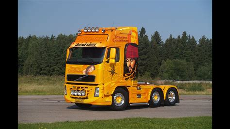 volvo fh guldager pirates   caribbean airbrush