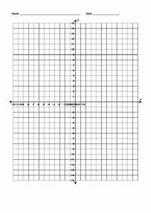 Full Page Blank Numbered Coordinate Grid Template