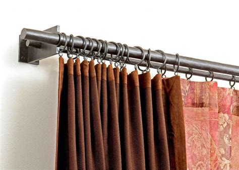 Double Curtain Rod Antique White Bracket Curtain Rod Beach Inspired Shower Curtains Dunelm Made To Measure How Long Should Bedroom Be Hardware White Blackout Walmart Americana Kitchen Battenburg Lace