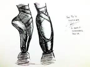 Ballet Shoes Sketch