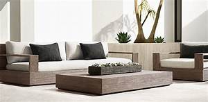 patio seating marbella collection weathered grey teak With restoration hardware outdoor sectional sofa