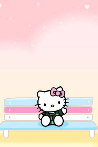 I think its very cute although the husband doesn't much like it. Cute Pink Hello Kitty Wallpaper for iPhone   Wallpapers for PC and Mobile