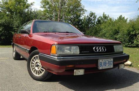 hayes auto repair manual 1986 audi 5000cs quattro parking system 4k 1986 audi 5000cs avant turbo quattro 5 speed bring a trailer