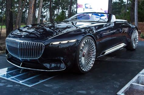 Vision Mercedes-maybach 6 Cabriolet First Look