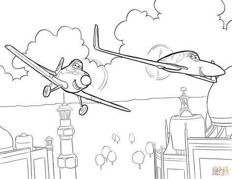 Disney Planes Dusty Coloring Pages Wwwimgkidcom The