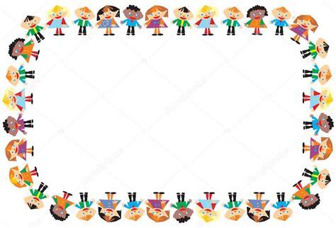 cadre des enfants pour le texte illustrant la danse image vectorielle vellas 169 89449922